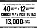 Link to The United Methodist Youth Fellowship in the Philippines